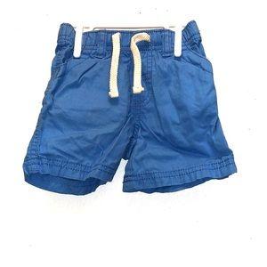 Old Navy Blue Shorts 6-12M